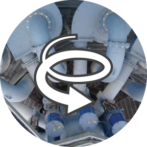 Portage Cyclone Detection System Icon